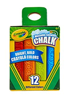 Crayola Washable Sidewalk Chalks (B076Z6KC3T)   Amazon price tracker / tracking, Amazon price history charts, Amazon price watches, Amazon price drop alerts