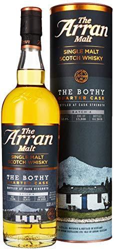 Arran The Bothy Quarter Cask Limited Edition mit Geschenkverpackung Whisky (1 x 0.7 l)