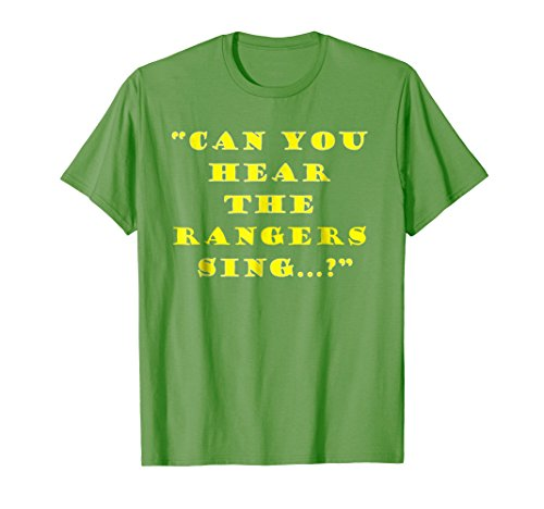 Can you hear the Rangers Sing