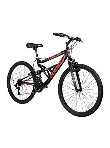 Hyper 26' Shocker Men's Dual Suspension Mountain Bike, Black
