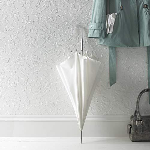 Superfresco überstreichbare Tapete mit Blättermotiv