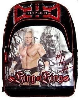 WWE Wrestling King of King Large Backpack Tote Bag