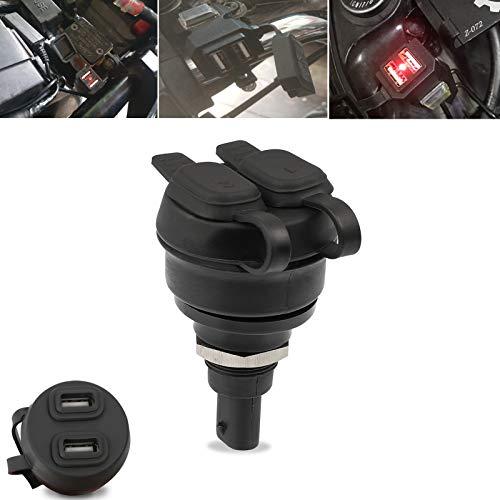 Doppia presa USB per moto Per F850GS 2017-2021 F850GS Adv. 2018-2021 F900R F900XR 2019-2021 R1250GS 2018-2021 R1250GS Adv. 2018-2021 R1250RT 2018-2021 RnineT 2014-2021 F800GS Adv. 2012-2021