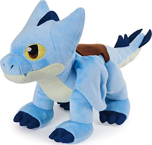 Dreamworks Dragons Rescue Riders, Deluxe Winger 15-inch Plush Dragon with Moving Wings