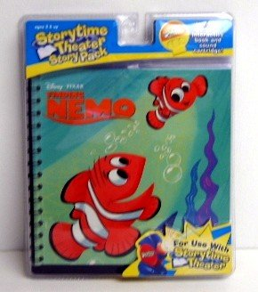 """Finding Nemo Storytime Theater 4.5"""" Cartridge (BEFORE ORDERING PLEASE CONFIRM THAT YOUR PROJECTOR WILL ACCEPT THIS SIZE CARTRIDGE!)"""