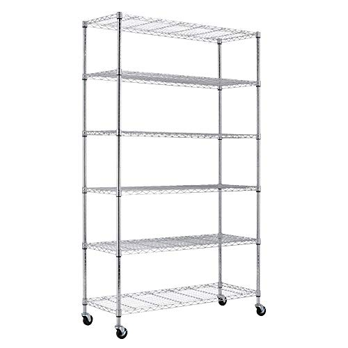 stainless storage shelves - 9