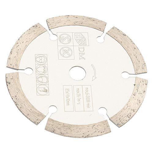 Circular Cutting Saw, 85mm x 10mm Diamond Circular Saw Blade for Rotating Tools, Woodworking Cutting