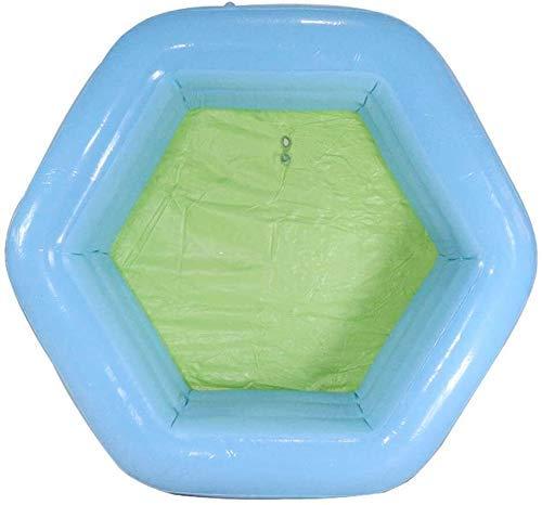 NLRHH Plegable Piscina, Piscina Inflable for niños, Piscina Bola del océano, Piscina Infantil, Piscina de Arena for niños, Piscina jardín Juguetes del Partido Peng