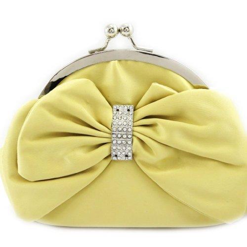 Les Trésors De Lily [L3676 - Sac Bourse 'Nina' jaune
