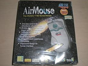*NEW* Adesso Airmouse Ergonomic 8D (8 D) Scroll Mouse 800 DPI PS/2 PS2 ERGO - NIB