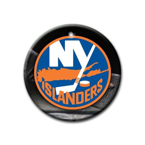 MYDply Islanders Hockey Ornament Round Porcelain Christmas Great Gift Idea New York