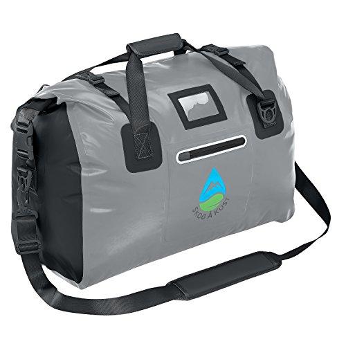 Skog Å Kust DuffelSak Waterproof Duffel Bag   60L Grey