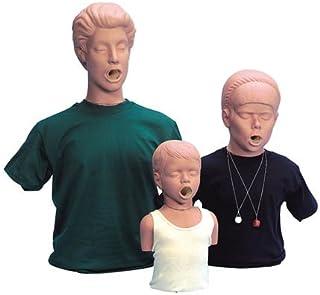 "Simulaids Choking Manikin 31"" X 18"" X 10"" Adult W/ Carry Bag"