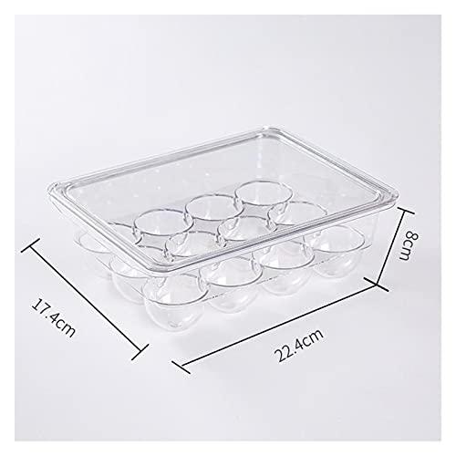 NSQQ Caja de Almacenamiento de Alimentos Cocina Refrigerador Tipo de cajón de Mantenimiento Fresco Contenedores para Accesorios de Almacenamiento de baño 529 (Color : 22.4x17.4x7.8cm)