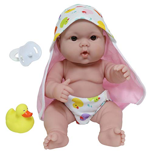 JC Toys, Lots to Love Babies 14 inches Baby Doll with Diaper - Designed by Berenguer