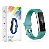 ONIOU Kids Fitness Tracker Watch, IP67 Waterproof Activity Tracker with Sleep Monitor, Alarm Clock, Sedentary Reminder, Pedometer Watch with Calorie Counter, Ideal Gifts for Children, Green