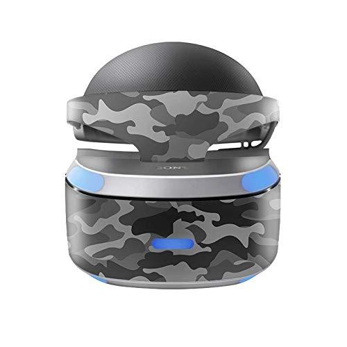 Skins4u Aufkleber Design Schutzfolie Vinyl Skin kompatibel mit Sony PS4 Playstation 4 VR Brille Urban Camo