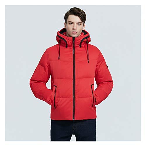 TBAO Neue Winter Thick Warm Herrenjacke Stylish Casual Herrenmantel Hochwertige Kleidung (Color : M306, Size : 54)
