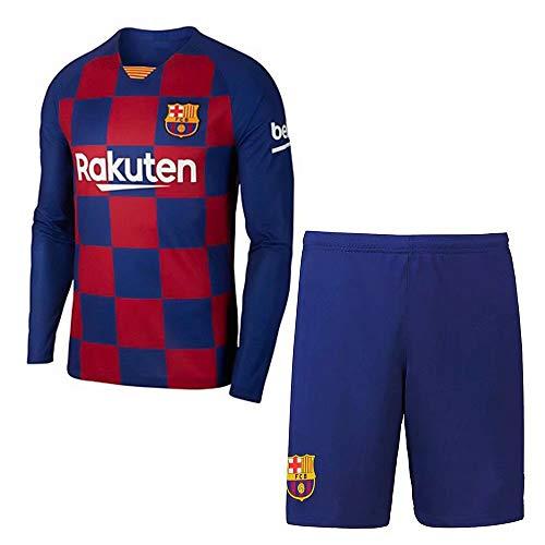 2019-2020 Personalisierter individueller Name und Nummer Fußball Jersey Langarm T-Shirt und Shorts Unisex Erwachsene Kinder Jugend Herren Fußball Jersey Kits