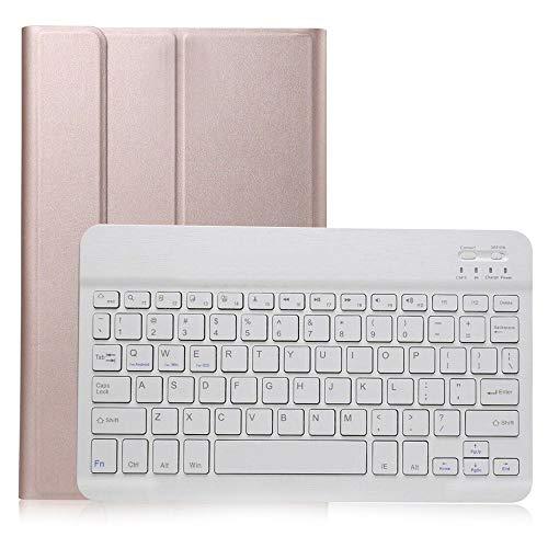 GHC PAD Cases & Covers Teclado Bluetooth para Samsung Galaxy Tab S5e 10.5 Funda de piel sintética con soporte para teclado inalámbrico Tab S5E 10.5 2019 SM-T720 T725 (color : ROG)