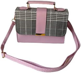Fashion Crossbody Handbags Purses Totes Hobo Bag (Pink)