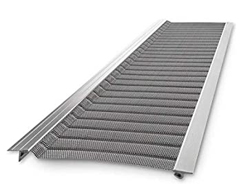 Stainless Steel Micro-Mesh Raptor Gutter Guard  A Contractor-Grade DIY Gutter Cover That fits Any roof or Gutter type-48ft to a Box and fits a 5  Gutter.