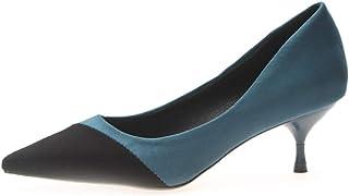 [トブイシューズ] パンプス レディース ピンヒール ミドルヒール 大人 上品 おしゃれ シンプル スウェード 歩きやすい 痛くない 美脚 通勤 入学式 卒業式 ビジネス キレイ 脚長 楽ちん カジュアル アウトドア 滑り止め 疲れない 快適