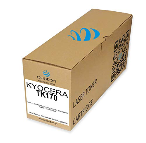 TK170, TK-170 Schwarz Duston Toner kompatibel zu Kyocera FS1320D FS1370DN