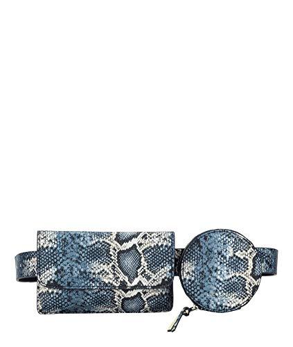 Liebeskind Berlin Nevada Belt Bag Umhängetasche, Medium (30 cm x 20 cm x 5cm), navy blue