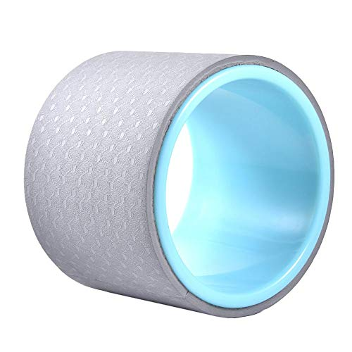 Alacritua Rueda De Yoga Antideslizante Yoga Wheel para Dharma Yoga Prop para Mejorando Tu Flexibilidad, Equilibrio Y Fuerza