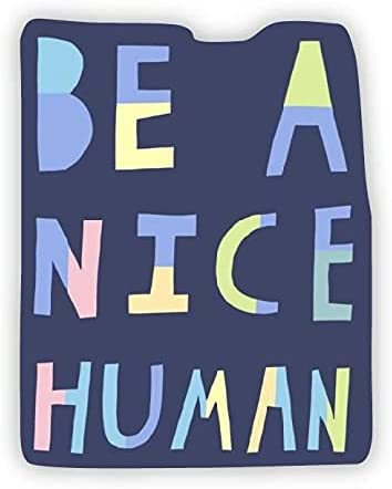 Be A Nice All items free shipping Human Vinyl Free shipping on posting reviews Stickers Water Sticker Bottle Decorative