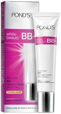 2 X Pond's White Beauty Bb+ All in One Fairness Cream SPF 30 Pa++(18 G)...