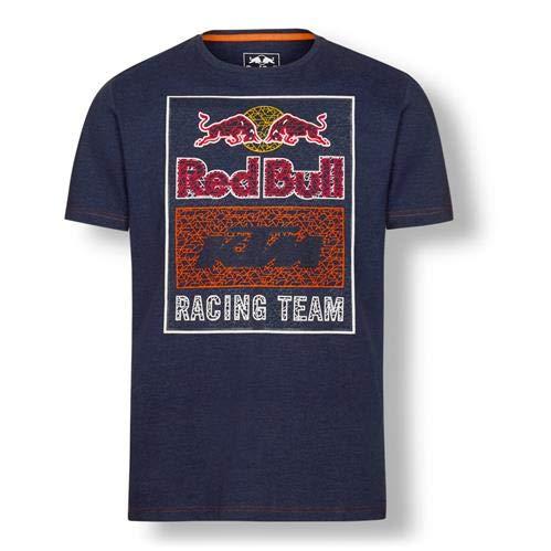 KTM New RED Bull Racing Team Graphic TEE (Navy) (Medium)