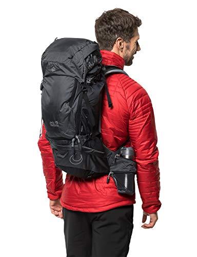 Jack Wolfskin Orbit 34 Pack Wandern Outdoor Trekking Rucksack, Phantom, Einheitsgröße