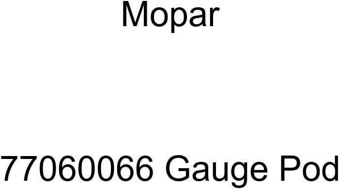 Mopar 77060066 Gauge Max 72% OFF Pod Popularity