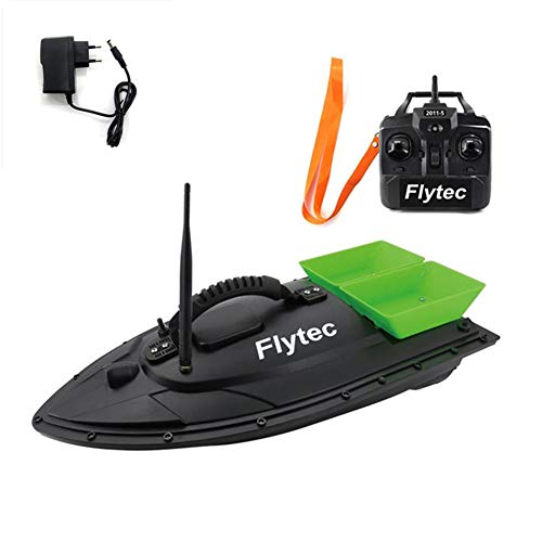 Metermall Home voor Flytec 2011-5 Elektrisch Visaas RC Boot 500M voor Remote Fish Finder 5.4km / h Double Motor Toys Kit/RTR-versie