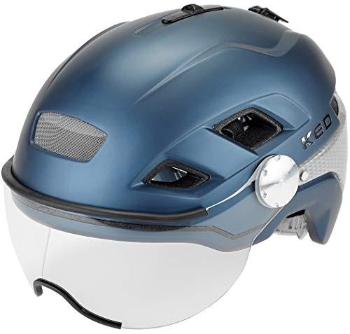 KED B-Vis X-Lite Helm Nightblue matt Kopfumfang L | 56-61cm 2020 Fahrradhelm
