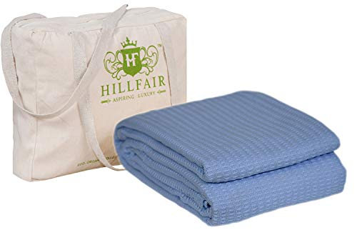 Hillfair 100% Certified Organic Cotton Blanket