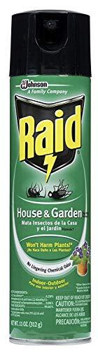 Raid House Garden Bug Killer, 11 OZ (1)
