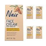 Nair Hair Remover Moisturizing Face Cream with Sweet Almond Oil 2 oz...