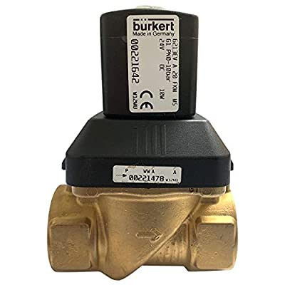 Burkert 6213 EV | Servo-Assisted 2/2 Way Diaphragm Valve for Liquids and Gases | 24 Volt Type A 20 FMK @ 10 bar | Includes Cable Plug 2508 | Original! from Thunder Parts