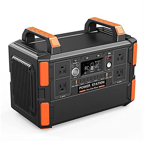 QCBC Batería 1000W Portátil Solar Power Back Generator Generador de energía Solar 110V-240V Fuente de alimentación de Salida de CA para el hogar