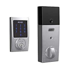 Pair with a Z Wave smart home or security system like Samsung SmartThings or Ring Alarm to lock and unlock from anywhere Hands free voice control requires Z Wave smart home system and compatible voice assistant; Alexa device (sold separately) Easy to...