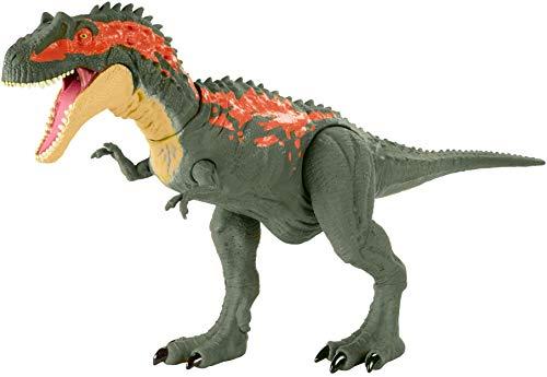 Jurassic World Mordedores Gigantes Albertosaurus Dinosaurio de ataque Figura de juguete para niños (Mattel GVG67)