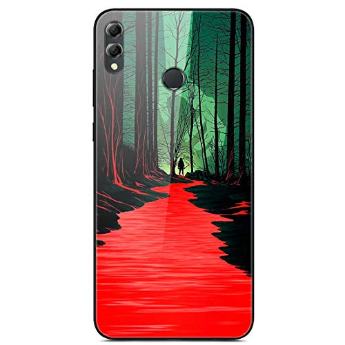 HUAYIJIE YLBL Funda para Huawei Honor 8X MAX ARE-L22HN ARE-AL10 Funda Carcasa Case Cover 17