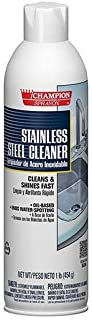 Stainless Steel Cleaner, Oil-Based Champion Sprayon 16 oz Can, Box of 3