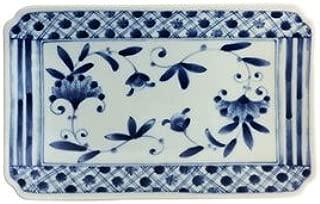 Porcelain Rectangular Plate - Nou Koushi