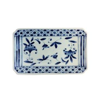 Tansu Porcelain Rectangular Plate - NOU Koushi