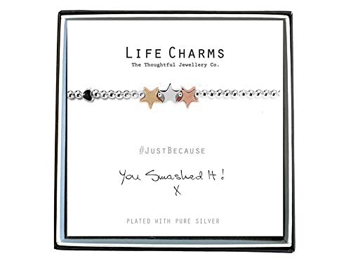 Life Charms Women Jewellery You Smashed It Bracelet Wristband Ladies Gift