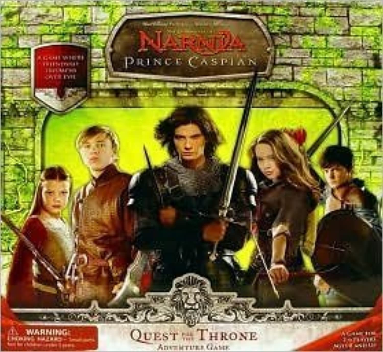Chronicles of Narnia  Prince Caspian Board Game by sababa
